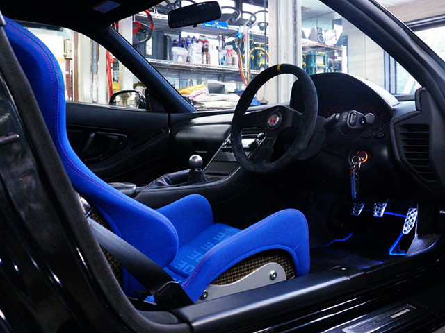 DRIVER'S STEERING.