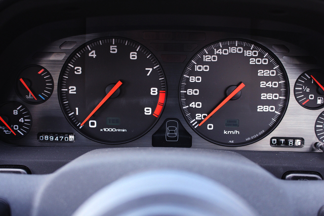 280km SPEED CLUSTER OF NA1 NSX.