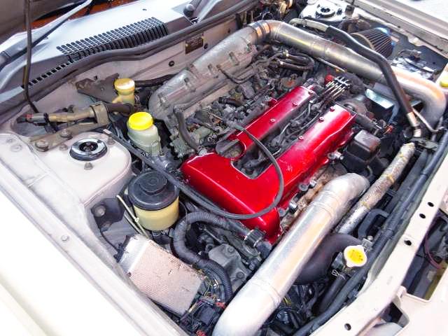 PULSAR GTI-R SR20DET SWAP into NISSAN RASHEEN ENGINE ROOM.