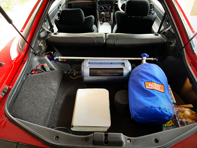 LUGGAGE SPACE OF Z16A GTO.