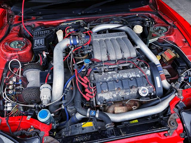 6G72 3.0L TWINTURBO ENGINE.