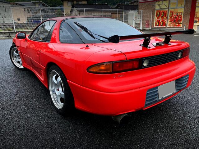 REAR EXTERIOR OF Z16A GTO TWIN TURBO.