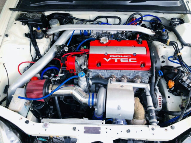 H22A 2200cc VTEC With TURBO