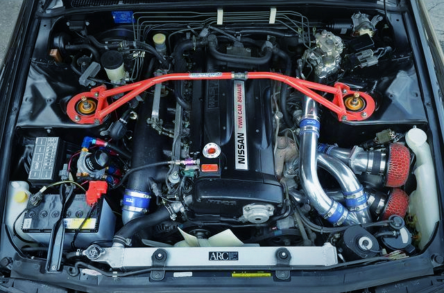 RB26 With HKS 2.7L and GT2530 TURBOS.