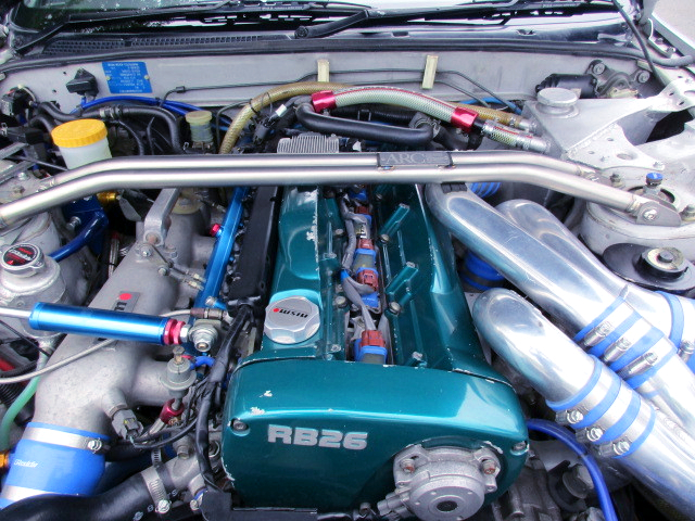 RB26 With 2.7L and T517Z TWIN TURBO.