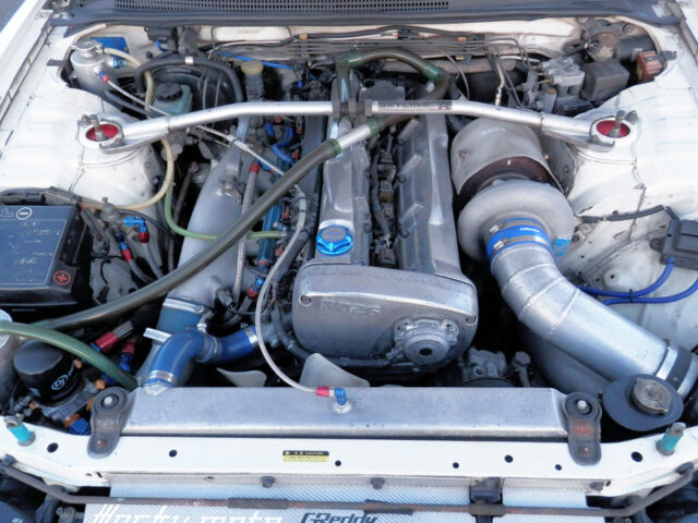RB26 With HKS PISTONS and T78-29D SINGLE TURBO.