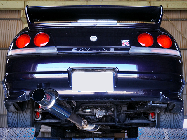 REAR TAIL LIGHT OF R33 GT-R V-SPEC.
