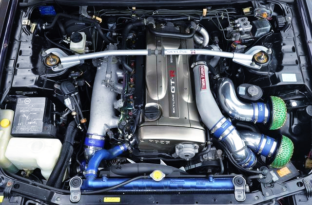 Nur RB26DETT ENGINE with GT-SS TWIN TURBO.