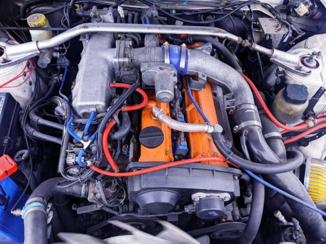 RB25DET TURBO ENGINE with GCG TURBINE.
