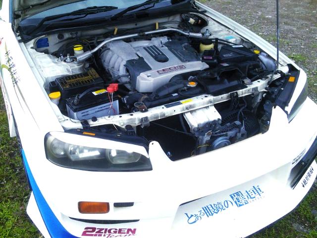 RB25DE NATURALLY ASPIRATED ENGINE