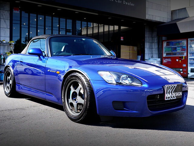 FRONT EXTERIOR OF AP1 S2000.