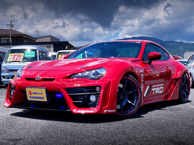 FRONT EXTERIOR OF ZN6 TOYOTA 86GT WIDEBODY.