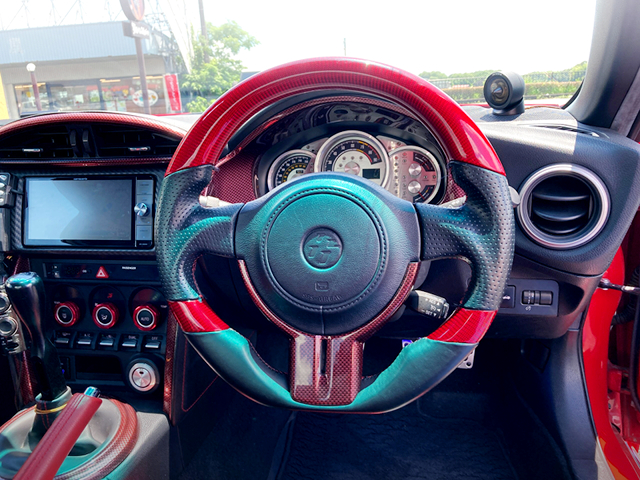 DRIVER'S DASHBOARD OF ZN6 TOYOTA 86GT.