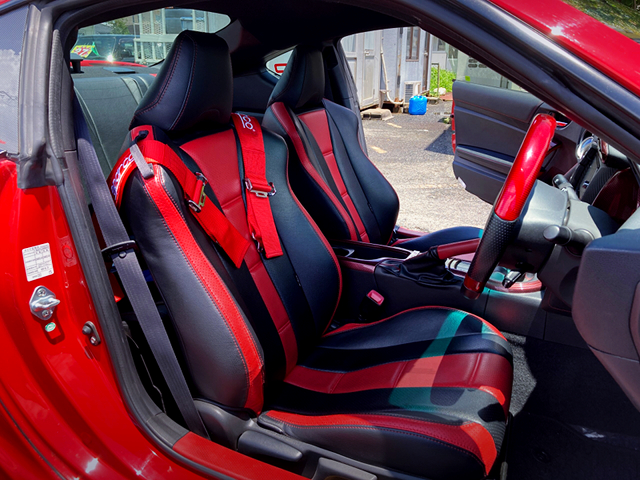 SEATS OF ZN6 TOYOTA 86GT.
