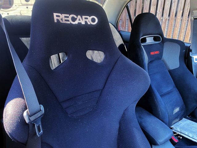 RECARO SEATS OF LANCER EVOLUTION 9.