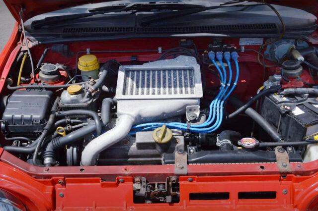 EN07 660cc DOHC SUPERCHARGER ENGINE.