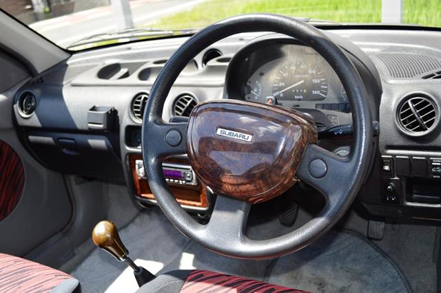 DRIVER'S DASHBOARD OF VIVIO T-TOP.