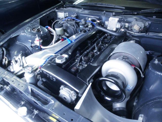 RB26 T88-34D SINGLE TURBO ENGINE.
