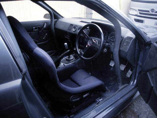 DRIVER'S INTERIOR.
