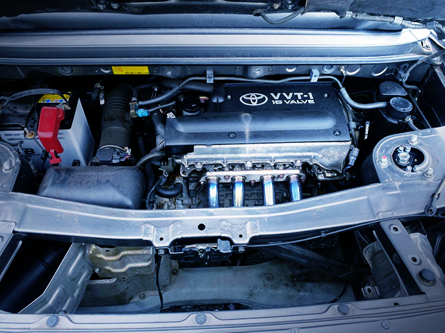 1ZZ-FE with EXHAUST MANIFOLD.