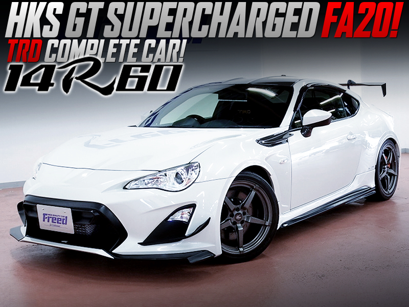 HKS SUPERCHARGED TRD 86 14R-60.