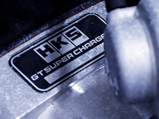 HKS GT7040L SUPERCHARGER.