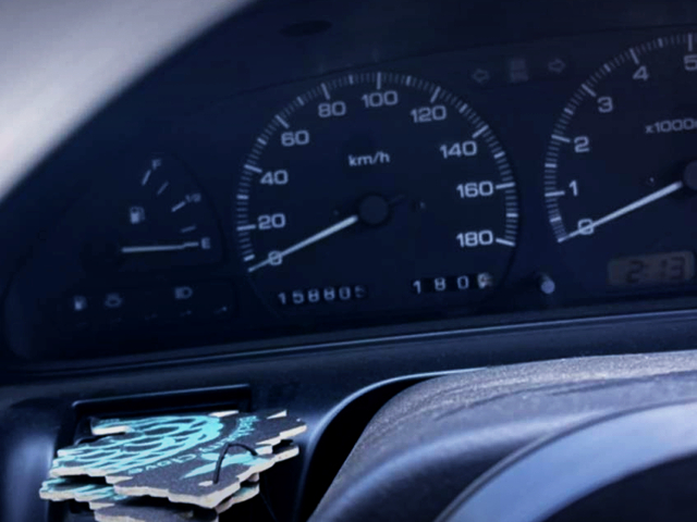 180km SPEED CLUSTER OF 180SX.