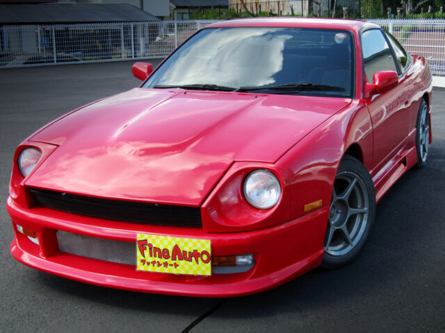FRONT EXTERIOR OF 180SX TYPE-S with S30Z FRONT END SWAP.