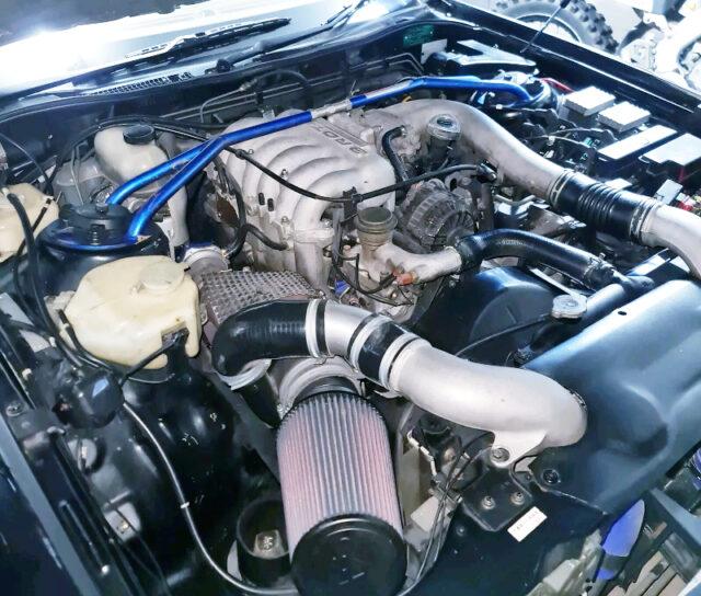 20B-REW 3-ROTOR ENGINE with TO4Z SINGLE TURBO.