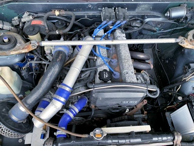 4AGZE SUPERCHARGER ENGINE.