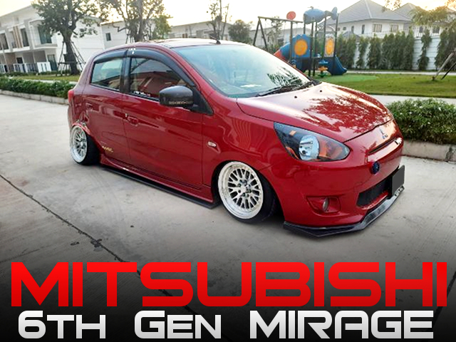 Air SUSPENSION INSTALLED and STANCED 6th Gen MIRAGE.