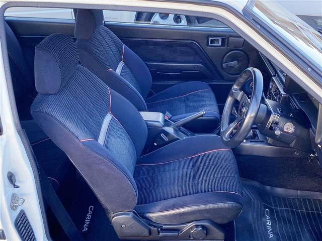 SEATS of AA63 CARINA 3-DOOR GT-R INTERIOR.