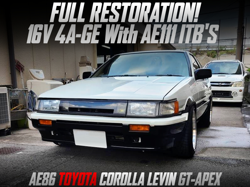 FULL RESTRATION of AE86 LEVIN GT-APEX.