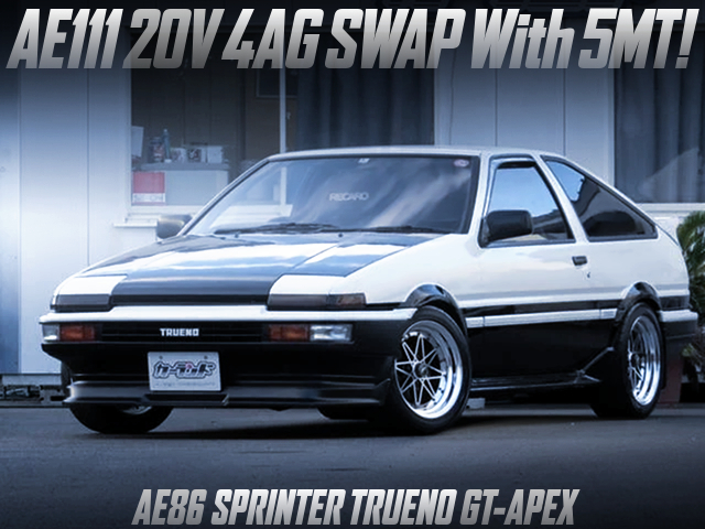 20V 4A-GE SWAP WITH 5MT into AE86 LEVIN HATCHBACK GT-APEX.