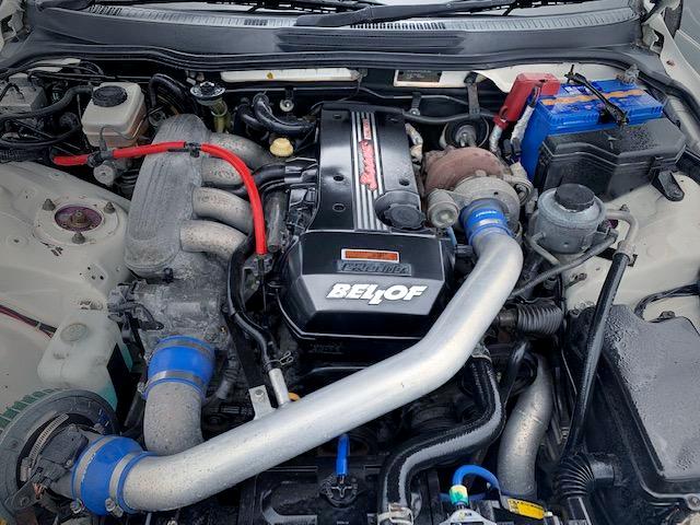 BEAMS 3S-GE ENGINE with GREDDY TURBO KIT.