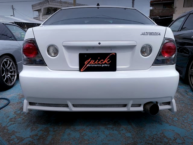 REAR TAIL LIGHT OF SXE10 ALTEZZA RS200.