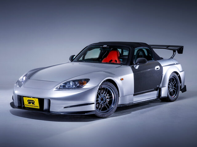 FRONT EXTERIOR OF AP1 S2000 AMUSE GT1 WIDEBODY.