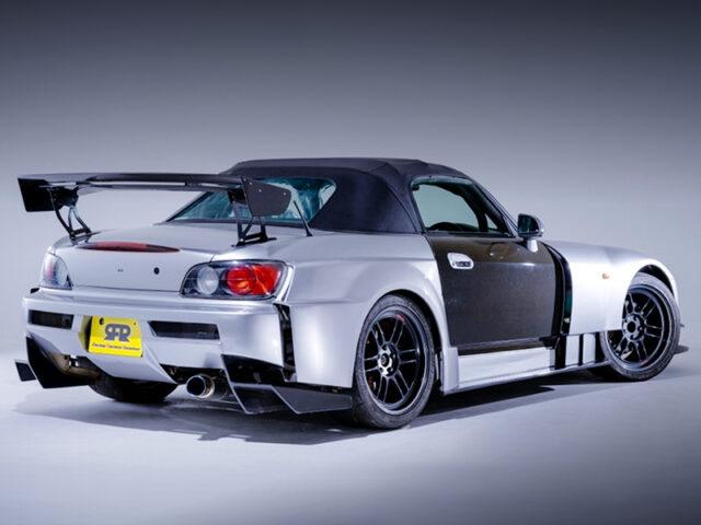 REAR EXTERIOR OF AP1 S2000 AMUSE GT1 WIDEBODY.