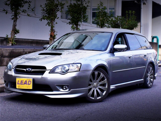 FRONT EXTERIOR of BP5 LEGACY TOURING WAGON 2.0GT.