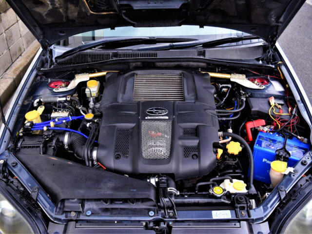 GALLERY EJ20 COMPLETE ENGINE with HIGH FLOW TURBO.
