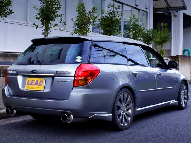 REAR EXTERIOR of BP5 LEGACY TOURING WAGON 2.0GT.