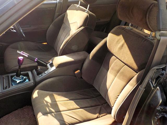INTERIOR SEATS of C33 LAUREL.