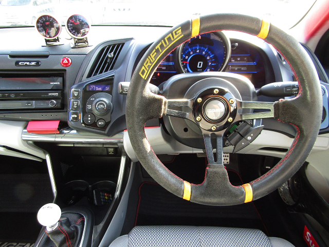 DRIVER'S DASHBOARD of CR-Z ALPHA.