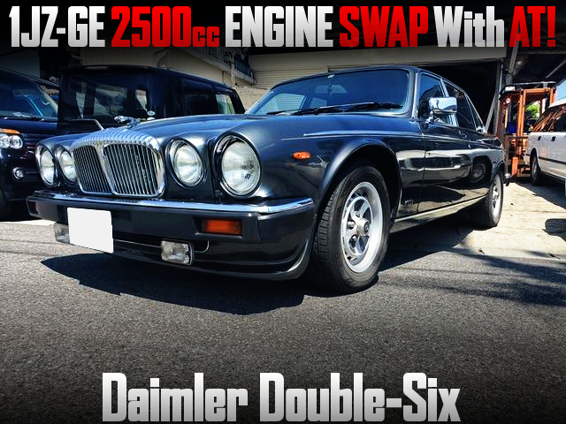 1JZ-GE 2500cc ENGINE SWAP With AT into DAIMLER DOUBLE SIX.