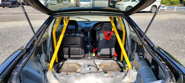 ROLL CAGE INSTALLED OF DC2 INTEGRA SiR-G.
