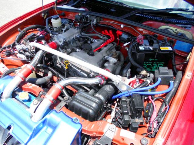 K6A TWINCAM TURBO ENGINE with K100 TURBO KIT.