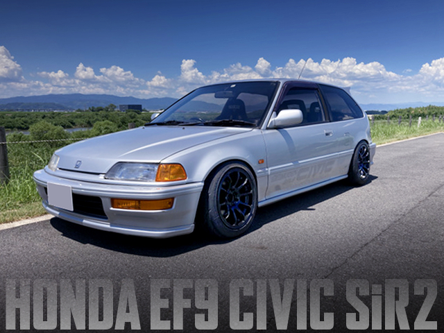 KANJO STYLE MODIFIED of EF9 GRAND CIVIC SiR2.