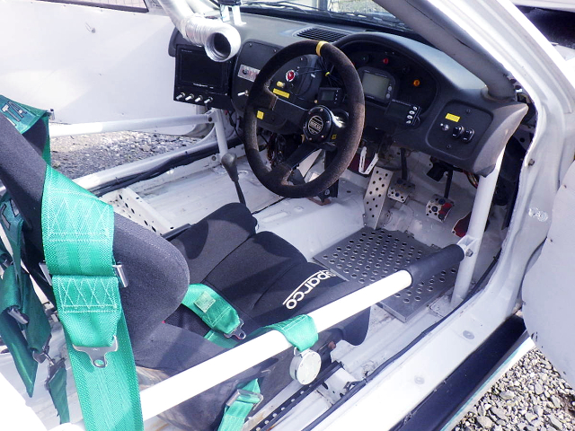ROLL CAGE and DASHBOARD.