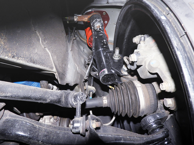 FRONT COILOVER OF EP3 CIVIC TYPE-R.