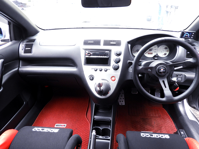 DASHBOARD of EP3 CIVIC TYPE-R INTERIOR.